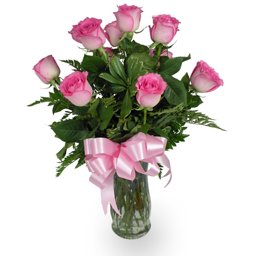 Send a gorgeous dozen of our finest Hot Pink Roses to your gorgeous love.<br/><br/>